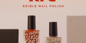One More Sign We Are In End Times:  KFC Edible Nail Polish