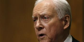 Orrin Hatch, Time Traveler, Talks About Meeting With Merrick Garland That Hasn't Happened Yet