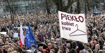Polish Women Stage Walk-Out On Catholic Mass Over Abortion