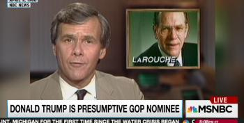 Rachel Maddow Compares Trump To LaRouche