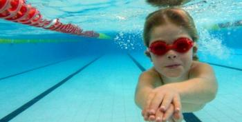 West Virginia Concealed Carry Nut Fires Weapon In Children's Swimming Class