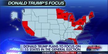 Fox's Imaginary Unicorn Trump Win Map Includes California