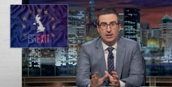 John Oliver Brilliantly Takes Down The Brexit Movement