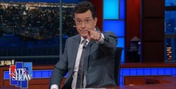 Colbert: 'The Gloves Are Off' On The NRA-Owned Senate