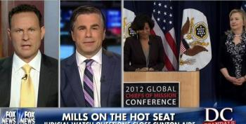 Judicial Watch Goes Fishing With Cheryl Mills Deposition; Proves It's All A Witch Hunt