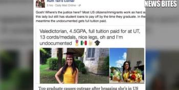 Trump Trolls Harass Undocumented Texas H.S.Valedictorian