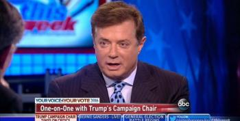 Manafort Blows Off Criticism Of Trump's Campaign Blunders