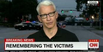 Emotional Anderson Cooper Reads Orlando Massacre Victims' Names