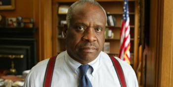 Justice Clarence Thomas Passionately Defends Spousal Abusers' Right To Guns