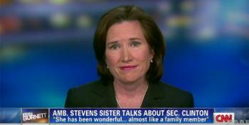 Ambassador Stevens' Sister Responds To Benghazi Report:  ' I Don't Blame Hillary Clinton'