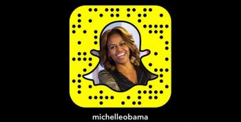 Michelle Obama On Snapchat Is As Awesome As You Would Think.