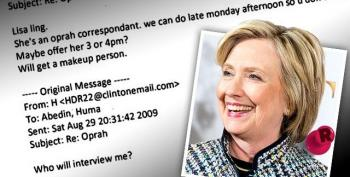 Yet Again, Friends, Into The Clinton Email Rut We Go