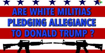 Trump's Militia Delegate Threatens U.S. Leaders