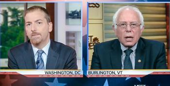 Chuck Todd Complains Bernie Is 'Trying To Politicize' Orlando Shooting With Gun Control Talk