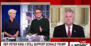 Rep. Peter King: Trump Says 'Racist' Things But He's Not 'Racist'