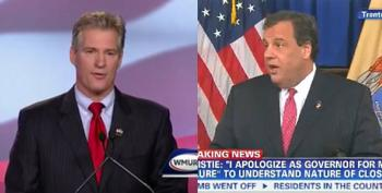 Scott Brown Mocks Chris Christie For 'Fetching Trump's  McDonalds Orders'