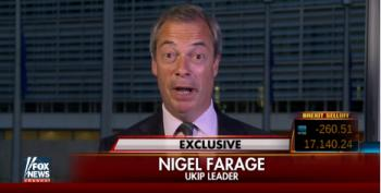 Nigel Farage Smears Obama On Fox: 'Putin More Statesmanlike Than President Obama'