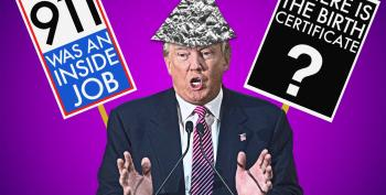 Fifty Shades Of Tinfoil Hat:  Trump Goes Full Conspiracy Theory Again