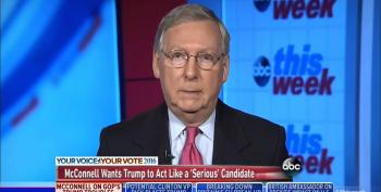 Mitch McConnell Refuses To Say That Trump Is Qualified To Be President