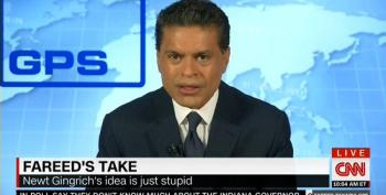 Fareed Zakaria Demolishes Newt's 'Stupid' Muslim-Deportation Scheme