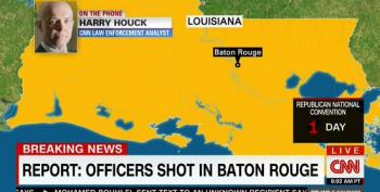 CNN Opens Baton Rouge Shooting Coverage With Race-Baiting Harry Houck