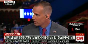 CNN Fails To Mention Corey Lewandowski Is Still On Trump Payroll