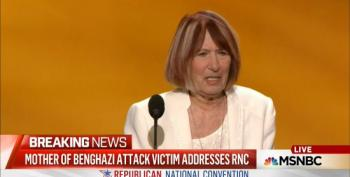 GOP Shamelessly Exploits Grieving, Unhinged Mother Of Benghazi Victim