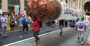 DNC Preview: Peaceful Protests And Hopeful Outlooks In The Streets Of Philly
