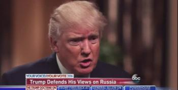 Trump Insists Putin Isn't 'In Ukraine' And Would Never Invade It [Updated]