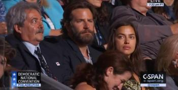 Confused Republicans Upset That Bradley Cooper Seen At DNC