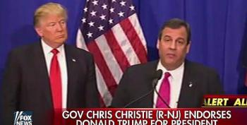 Christie Being Vetted As Trump's Running Mate, Already Doing Fabulous Job
