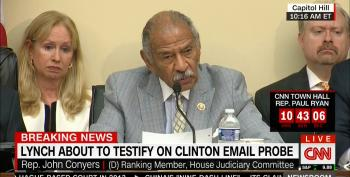Rep. Conyers:  Why Are Witch Hunts GOP's Top Priority?