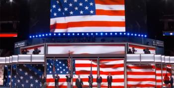 No, Really!  Right Wing Websites Claim Flags Forbidden At DNC