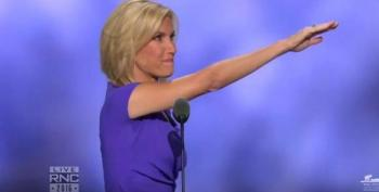 Who Better Than Laura Ingraham To Fly The Nazi Salute At The RNC?