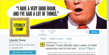'Literally Trump' Quotes Him Accurately, And That's All You Need