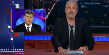 Sean Hannity Loses It Trying To Hit Back At Jon Stewart And Erik Wemple