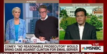 Morning Joe Trots Out Alberto Gonzales To Question James Comey's Judgement