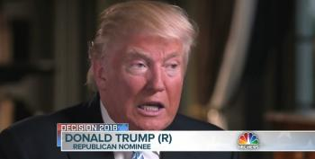 Donald Trump Defends Ailes: 'He's A Very Good Person'