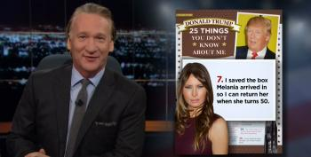 Bill Maher: Donald Trump And The '25 Things You Don't Know About Me'