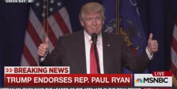 Ryan, McCain And Ayotte Receive Grudging Trump Endorsement