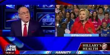 Fox 'News' Crack Doctor Diagnoses Hillary Clinton's Imaginary 'Illness'
