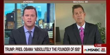Sean Duffy Won't Admit Trump's 'Obama Founded ISIS' Claims Are Insane