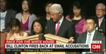Bill Clinton Says Email 'Scandal' Is 'The Biggest Bunch Of Bull' Ever