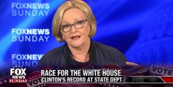 Claire McCaskill--'Trump And His Friend Putin Are The Founders Of ISIS'