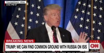 Trump Praises Obama's Foreign Policy Decision To Partner With Russia In ISIS Fight