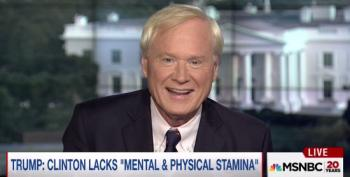 Chris Matthews Lends Credence To Hannity's Fake HRC Health Issue