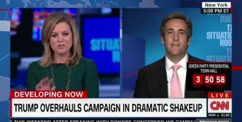 'Which Polls?' Trump Surrogate Tries To Gaslight CNN Host