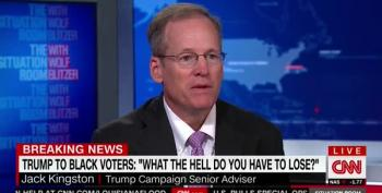 Trump Surrogate Snidely Suggests African American Voters Prefer 'A Backdrop With A Burning Car'