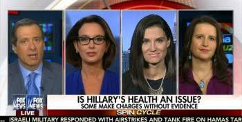 Fox Panel Ignores Their Own Hillary Clinton Health Conspiracy Lies