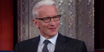 Anderson Cooper Can't Explain Why CNN And Trump Pay Lewandowski